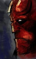 HELLBOY by LiuboGri