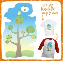 Birdie in the trees by arwenita