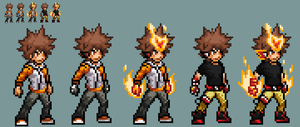 Tsuna JUS sprite. by yurestu