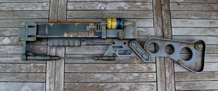 Fallout 3 AER9 Laser Rifle 3 by Thomasotom