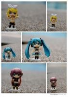 Vocaloid RQ Set Black Set by ILICarrieDoll