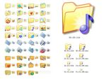 Folder Icon Set by Iconoman