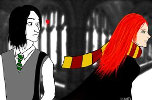 HP: Snape and Lily by Izi-jeevas