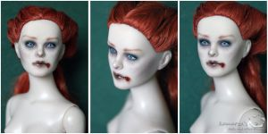 Red Haired Tonner repaint by kamarza