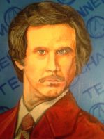 Ron Burgundy by RearNakedChode