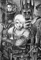 The Witcher by IrisGrass