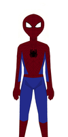 Jack Gamble as Spider-man by TheDoctorWriter