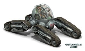 FOUR TRACK ALL-TERRAIN VEHICLE by CUTANGUS