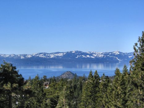 Warm WinterLake Tahoe by embersfromashes