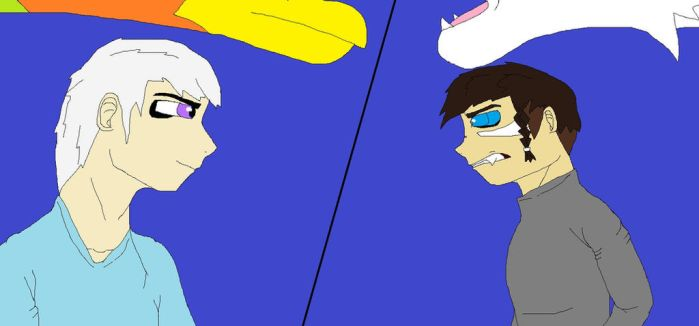 Eric vs Ren- 'So I see who really is in charge.' by GuardianDragon3847