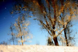 winter in the river by JAKOKTO