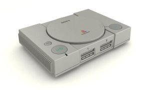 Playstation 1 3d model by hhh316