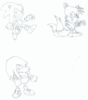 Sonic and Pals by TheProxy