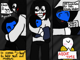 The Adventures Of Slendy And Splendy - Page 4 by littleblackmariah