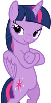 Twilight looking cool by Uponia