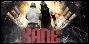 Kane Signature by SoulRiderGFX