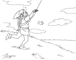 LinkandKite.png by Zerohope2survive