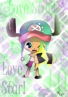 Chopper in Love Star by HolderofTruth
