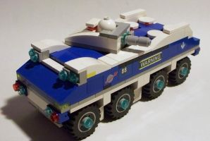 LEGO Armoured Car 2 by Frohickey