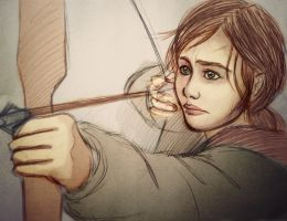 Ellie - The Last of Us (Colour) by Lari-Fari