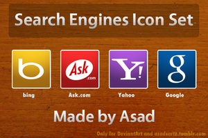 Search Engines Icon Set by Coolboyasad12