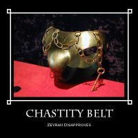 Chastity Belt by idleideas