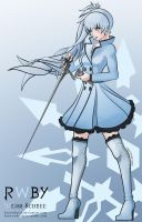 RWBY - Weiss Schnee by Essynthesis