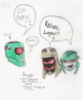 """Knives, Lugnut?"" by Sanguijuela"