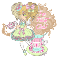 :TPC:FrockOn!:Sugary Teacup Story: by iggie39