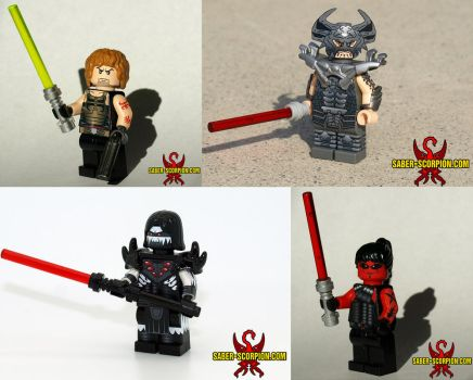 Star Wars: Legacy Custom LEGO Minifigs by Saber-Scorpion