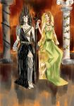 Hades and Persephone by craftY0artY0gabY