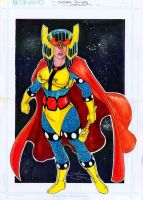 Big Barda by danielhdr