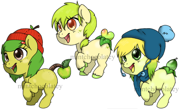Apple-Key Lime Fruity Booty Adopts by MintChocolatey