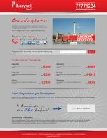 Honeywell Travel Landing Page by alwinred