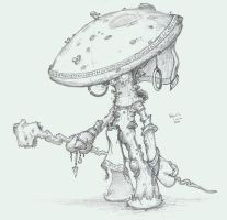Planescape-Myconid Sorcerer by Sebbythefreak
