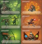 Lostlegends - exp. - characterskillcards by the-John-Doe