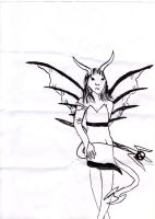 Demoness by dupinema