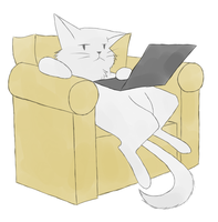 Laptop cat by Aetherium-Aeon