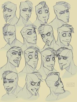 Expression practice - Shaden by SHADE-ShyPervert