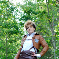 Jean Kirstein SnK Cosplay Close-Up by Kozekito