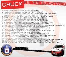 Chuck vs. The Soundtrack back by trebory6