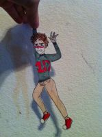 Louis paper child by Onedirectioner1236