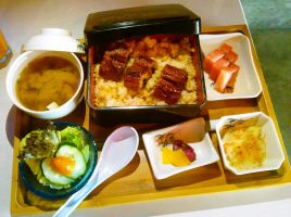 Unagi Set by plainordinary1
