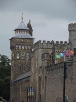 Cardiff Castle I by YesIamEccentric