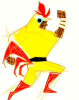 Juan from Guacamelee by haymakers