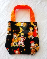 Halloween Trick or Treat Tote by BoutiqueVintage72