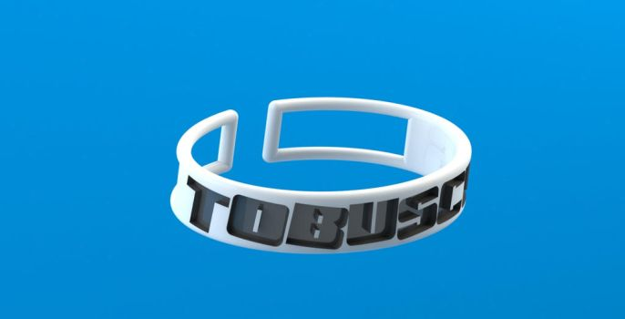 TOBUSCUS Bangle! by techgeekgirl
