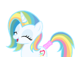 Melody Rainbow: Laughting by xMirlon