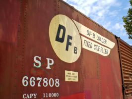 Fillmore Train Car by Fritters
