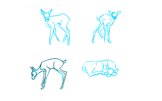 fawn pose set wip by FearlessRapids
